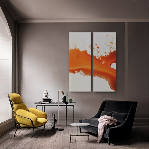 quadro su tela, grande formato, interno