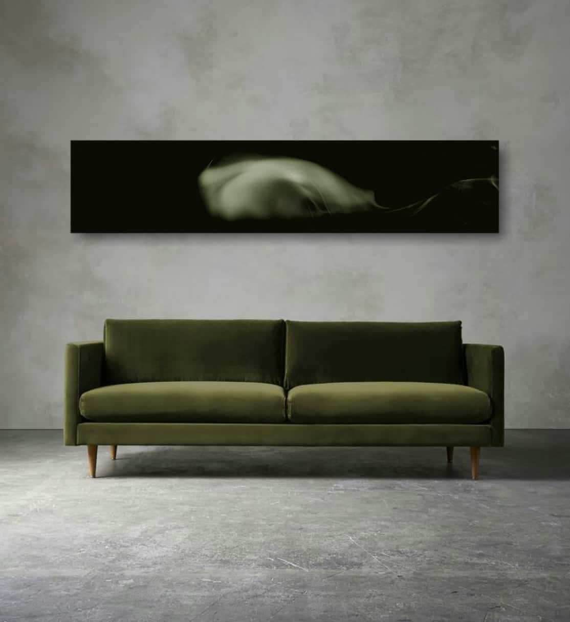 wall art, couch, home interior