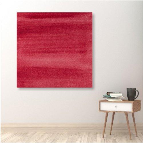 stampa su tela rosso corallo