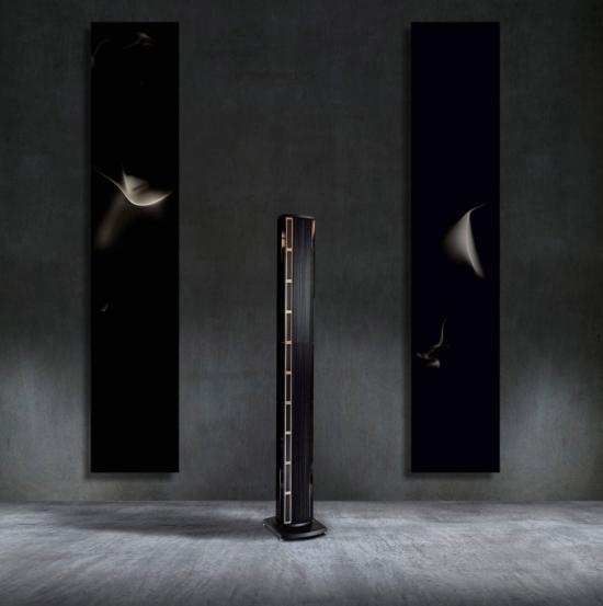 diffusore Steinway con 2 pannelli neri
